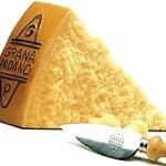 Питание больных с гипертонией,  диета после инсульта: сыр Грана Падано